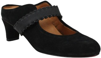 L'Amour des Pieds Leather Mary Jane Style Mules - Jadida