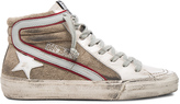 Golden Goose Deluxe Brand Leather Slide Sneakers
