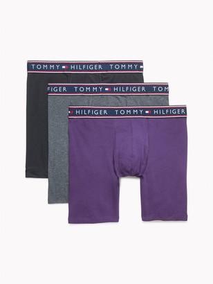Tommy Hilfiger Cotton Stretch Boxer Brief 3PK