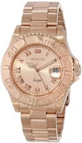 Invicta Women's 14322 Angel Analog Display Swiss Quartz Rose Gold Watch