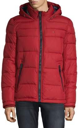 Tommy Hilfiger Classic Hooded Performance Puffer Jacket
