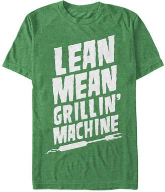 Chin Up Apparel Men's Tee Shirts KEL - Heather Kelly Green 'Lean Mean' Tee - Men
