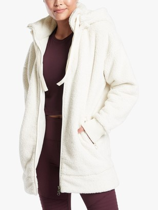 Athleta Tugga Long Sherpa Jacket