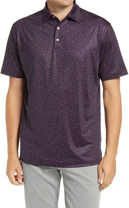 Peter Millar Vale Cocktail Print Performance Polo