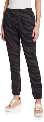 Spiritual Gangster Laguna Zebra French Terry Sweatpants