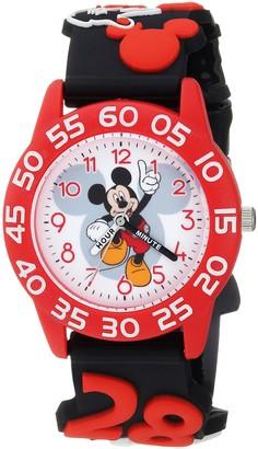 Disney Boys Mickey Mouse Analog-Quartz Watch with Plastic Strap