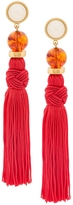 Lizzie Fortunato Jumbo Tassel Earrings