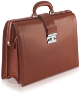 Pineider Power Elegance - Brown Leather Diplomatic Briefcase