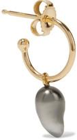 Mizuki 14-karat Gold Pearl Earring - one size