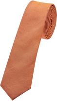 Oxford Silk Tie Orange Skny X
