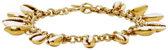 Isabel Marant White and Gold New Amer Bracelet