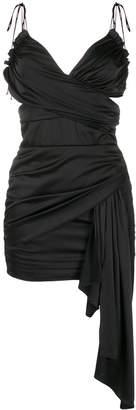 For Love & Lemons Madonna faux wrap mini dress