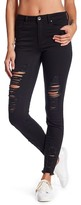 Tractr Destructed High Waist Skinny Jeans