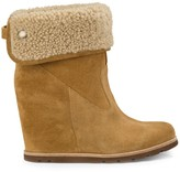 Sole Society Kyra suede wedge boot