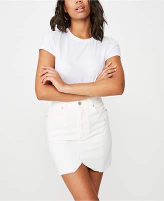 Cotton On The Re-Made Mini Denim Skirt