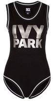 Ivy Park Metallic logo print bodysuit