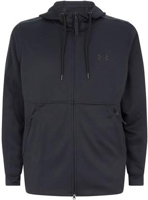 Under Armour Unstoppable Logo Tape Zipped Hoodie
