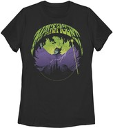 Disney Juniors' Sleeping Beauty Silouhette Maleficent Rock Theme Tee