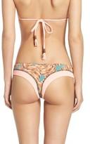 Maaji Women's Flower Power Brazilian Bikini Bottoms