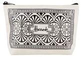 Harrods Art Deco Travel Pouch
