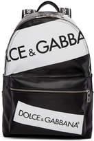Dolce & Gabbana Black Tape Logo Backpack