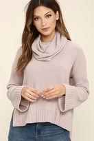 BB Dakota Marcilly Light Blush Sweater