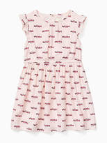 Kate Spade Toddlers hot rod dress