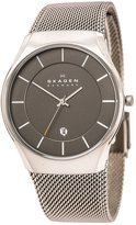 Skagen SKW6140 Men's Matthies Dark Grey Dial Titanium Mesh Bracelet Watch