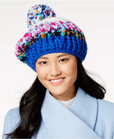 INC International Concepts I.N.C. Marled Striped Beret, Created for Macy's