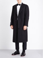 Thom Browne Single-breasted wool and mohair-blend coat
