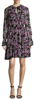 Temperley London Captain Print Pleat A Line Dress