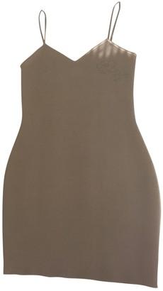 Chanel Beige Cotton - elasthane Dresses