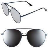 Quay Lickety Split 62mm Aviator Sunglasses