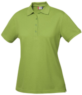 Clique Light Green Elmira Polo - Plus Too