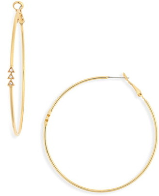 Uncommon James by Kristin Cavallari 5th Avenue Hoop Earrings
