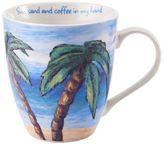 """Pfaltzgraff Sun, Sand & Coffee in My Hand"""" Mug"""