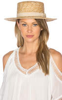L-Space J'Adore Hat in Cream.