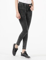 Cheap Monday Marble Ice High Spray Super Skinny Jeans