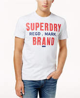 Superdry Men's Brand Logo-Print T-Shirt