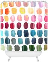 Deny Designs Stephanie Corfee Color Palette Shower Curtain