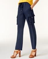 MICHAEL Michael Kors Petite Cady Pull-On Cargo Pants