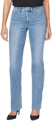 NYDJ Relaxed Fit Straight Leg Jeans