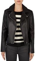 Gerard Darel Orlando Leather Motorcycle Jacket