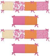 JoJo Designs Sweet Surf Pink Collection Crib Bumper