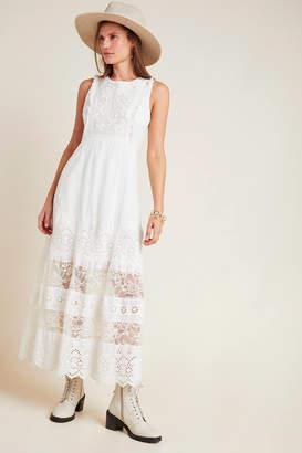 Anthropologie Liliana Lace Maxi Dress