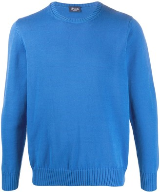 Drumohr Ribbed Crew Neck Jumper