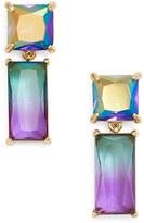 Kate Spade Women's Baguette Crystal Drop Earrings