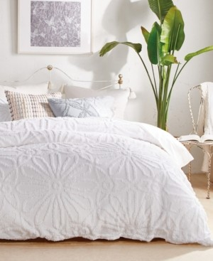 Peri Home Peri Chenille Medallion Comforter Set, Queen Bedding