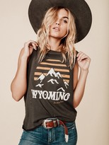 Mate The Label Wyoming Mate Tank in Vintage Black