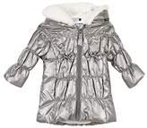 3 Pommes Baby Girls' Manteau Capuche Coat,(Manufacturer Size: 9/12M)